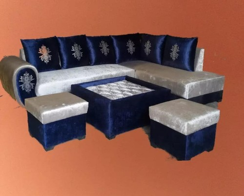 L Shaped Living Room Sofa Set