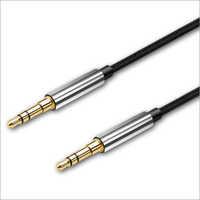 Metal PVC Aux Cable