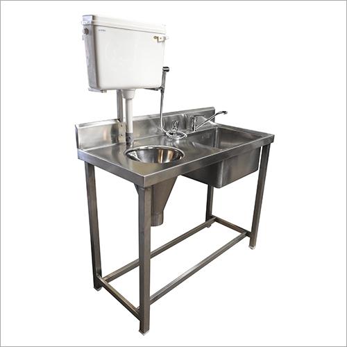 Sluice Cone Sink Wash Station