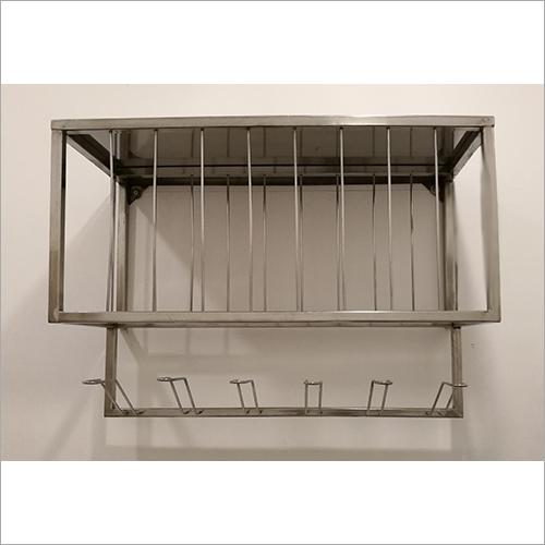 Wall Mounted Bedpan Storage Rack