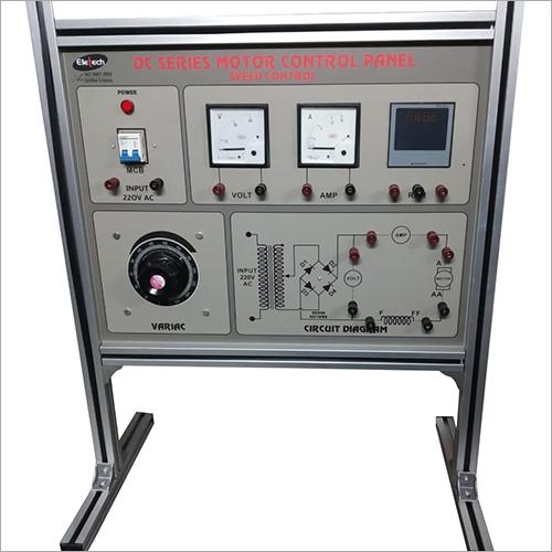 DC Series Motor Control  Panel