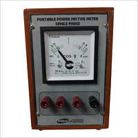 Portable Single Phase Power Factor Meter