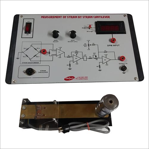 Strain Gauge With Cantilever Trainer Kit