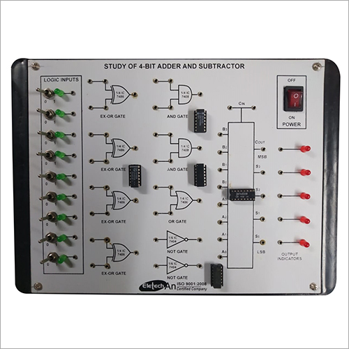 4 Bit Adder And Subtractor Lab Instrument