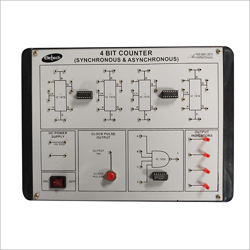 4 Bit Counter Lab Instrument