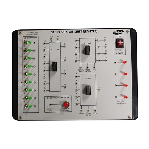 4 Bit Shift Register Lab Instrument