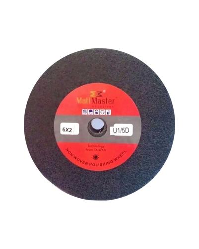 Black nylon finishing wheel