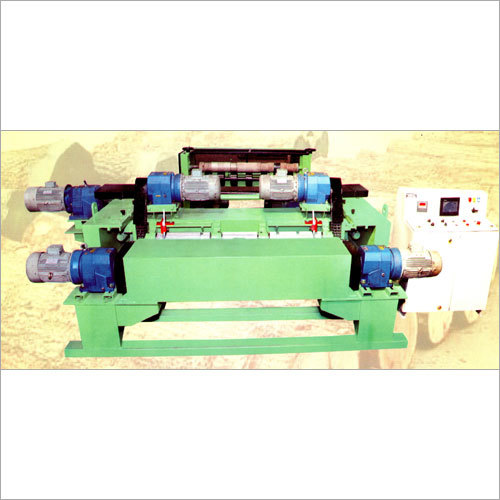 Dual Speed Servo Spindle Less Log Veneer Machine