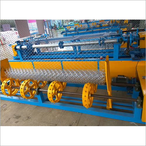 Fully Automatic Chain Link Fencing Machine