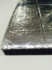Nitrile Rubber Sheet With Aluminium Foil