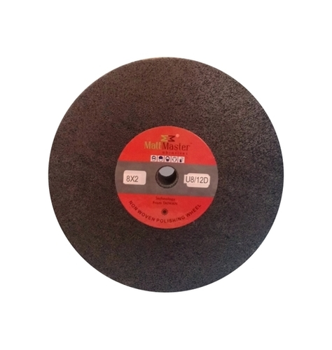 Black Non Woven Polishing Wheel