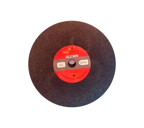 8x2 Black Non Woven Polishing Wheel