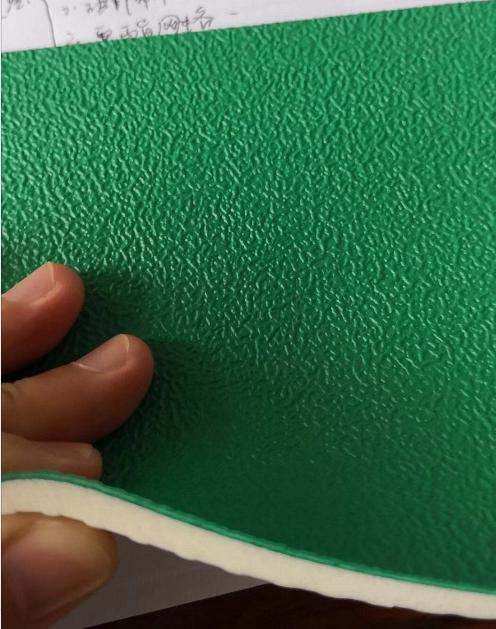 5.0mm sand texture badminton court mat