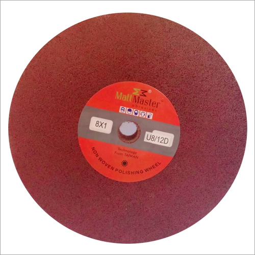 Aluminum oxide polishing wheel