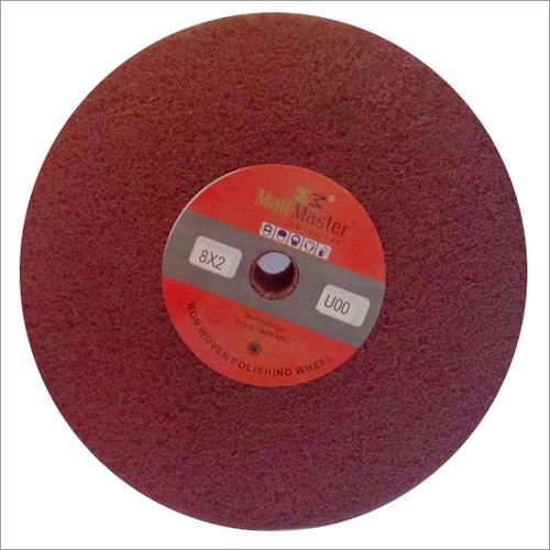 Non woven abrasive grinding flap wheel