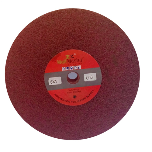 Nylon fiber polishing wheel