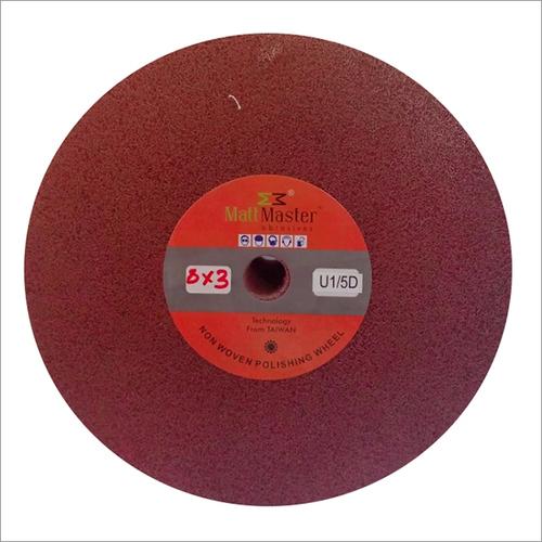 Non woven abrasive grinding wheel