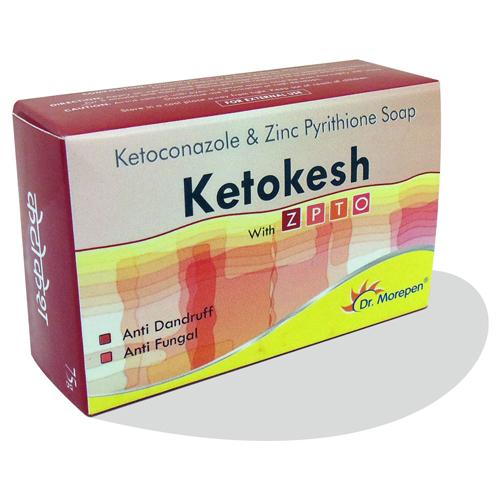 Ketoconazole & Zinc Pyrithione Soap