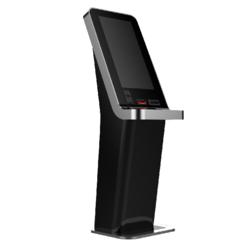 Touch screen higher educational kiosk