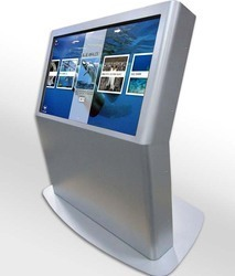 Wall mounted education kiosk