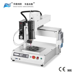 Dispensing robot silicone glue dispenser machine with rotary dispensing valve TH-206H-KG3