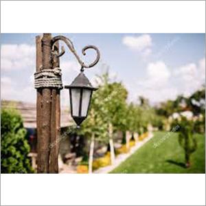 Green Lamp Facade