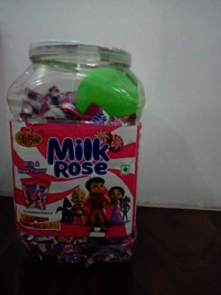 Milk and Rose Flavor Candy
