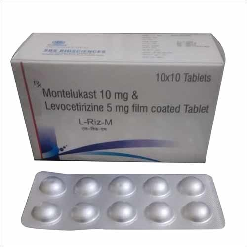 Montelukast & Levocetirizine Film Coated Tablet