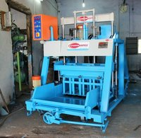 Double Punch Solid Block Making Machine