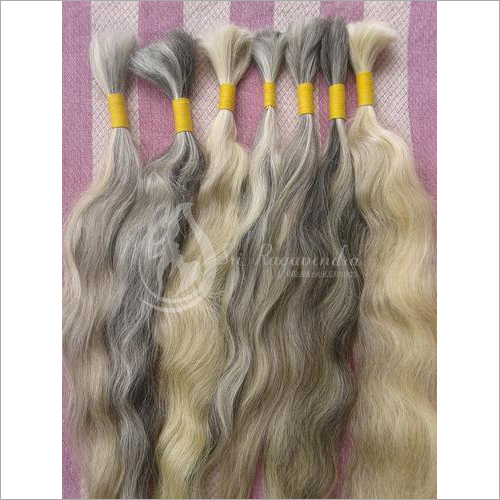 Single Drawn Natural Grey Hair