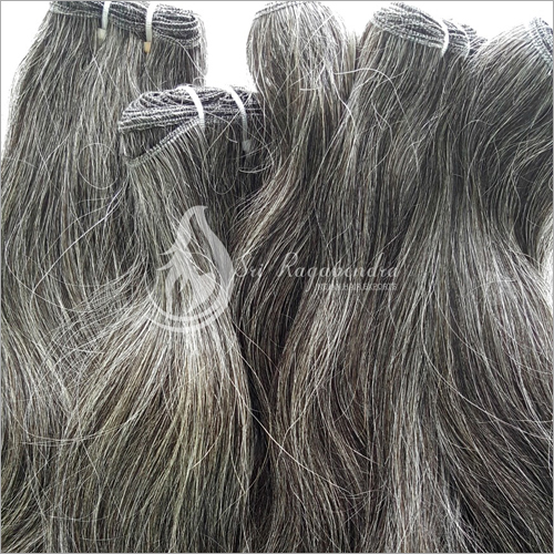 Natural Grey Straight Hair