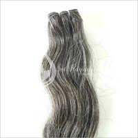 Natural Grey Wavy Hair Bundles