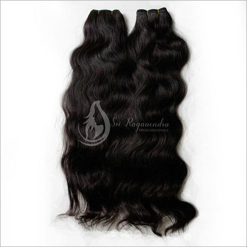 Wavy Dye Jet Black Hair Bundles