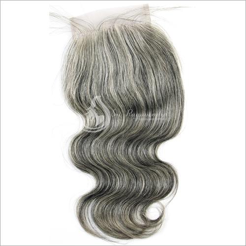Natural Grey Hair Closure