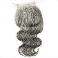 Natural Grey Hair Closure