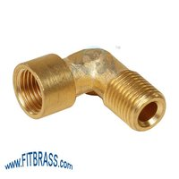 Brass Male Female Elbow