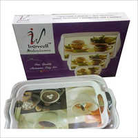 Melamine 3 Pieces Tray Set
