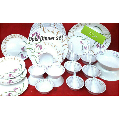 40 Piece Melamine Dinner Set