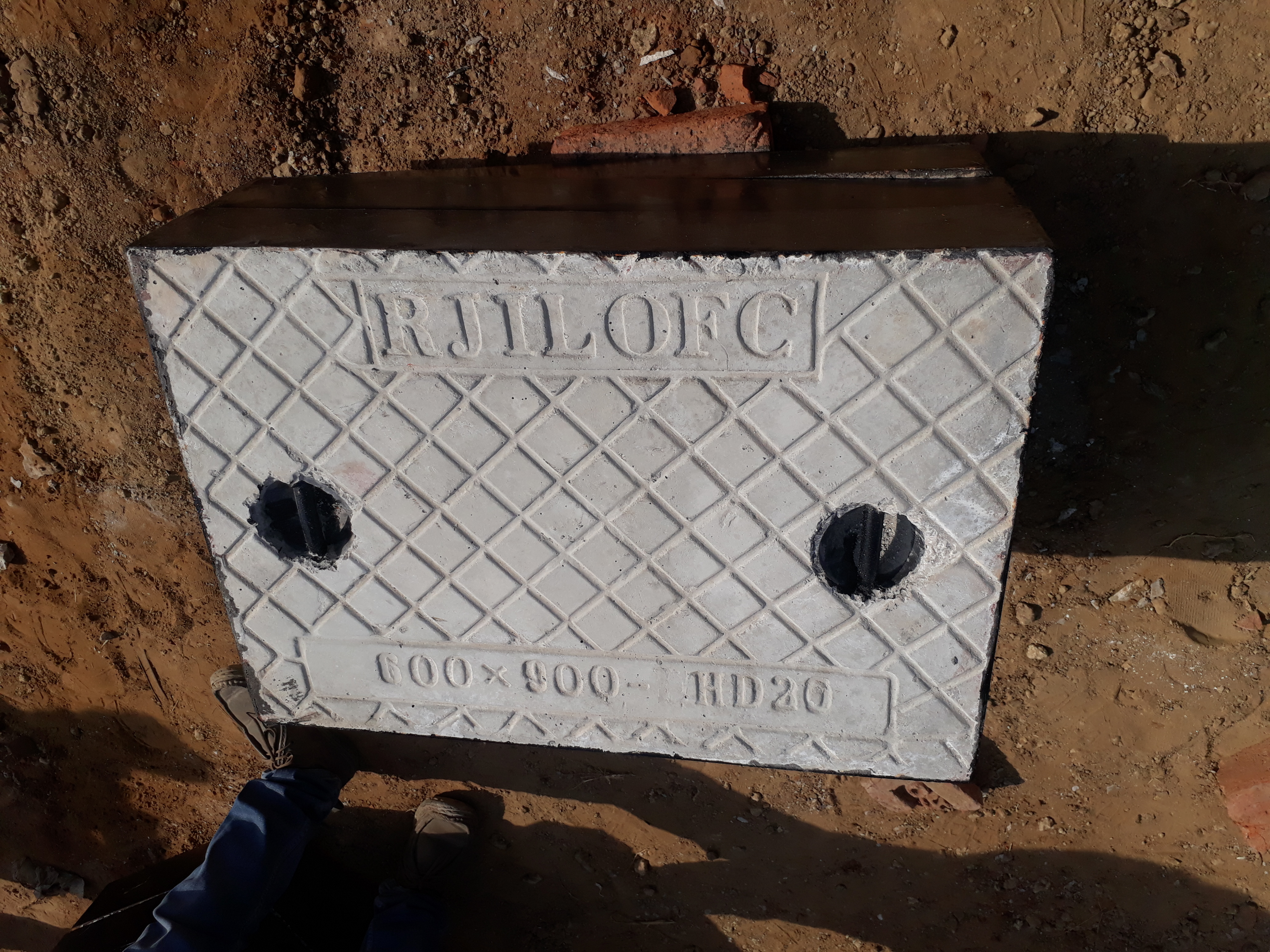 Frp Main Hole Cover