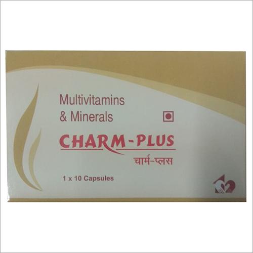 Multivitamins And Minerals Capsules Generic Drugs