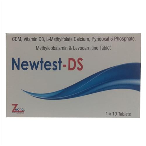 Ccm-Vitamin D3 L-Methylcobalamin And Levocarnitine Tablet General Medicines