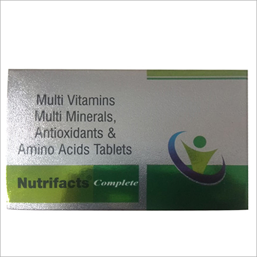 Multi Vitamins-Multi Minerals Antioxidants And Amino Acids Tablet