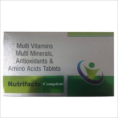 Multi Vitamins-Multi Minerals Antioxidants And Amino Acids Tablet