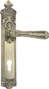 SPIDER BRASS MORTISE LOCK SET (CY-LaRGE) (B03J AB)