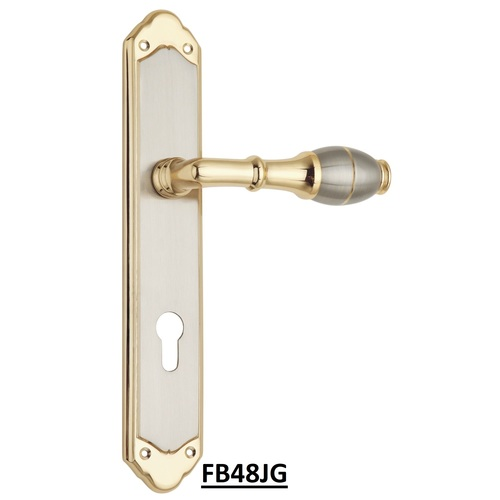 Spider Brass Mortise Lock (CY-lARGE)