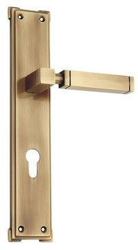 spider Brass Mortise Lock Set (CY- Large)