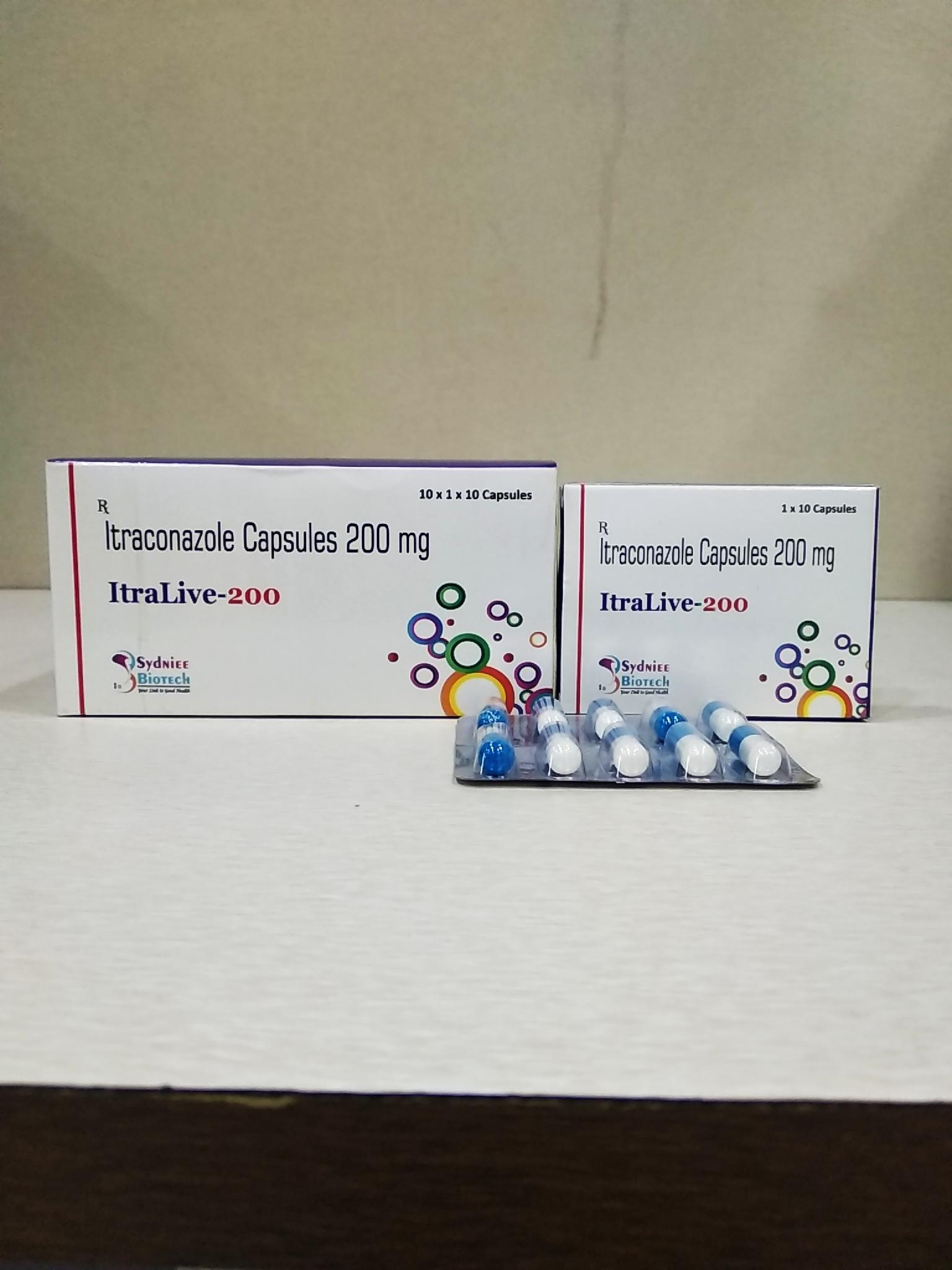 Itraconazole capsule