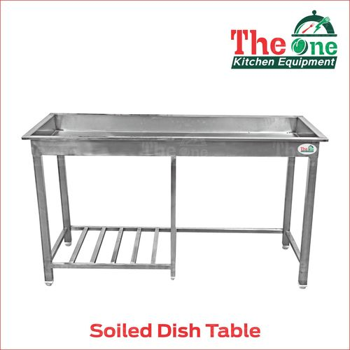 SOLID DISH TABLE
