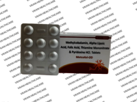Methylcobalamin 1500 mcg + AlphaLipoic Acid 100 mg + Folic acid 1.5 mg + Pyridoxine HCL 3 mg