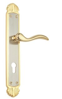 Spider Brass Mortise Lock CY-Large (B43J G)